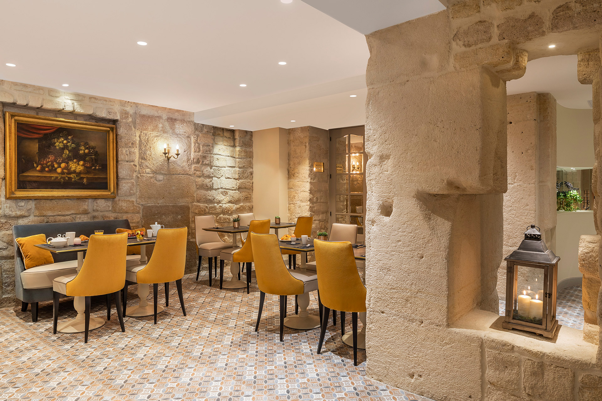 Best Western Premier Ducs de Bourgogne breakfast room